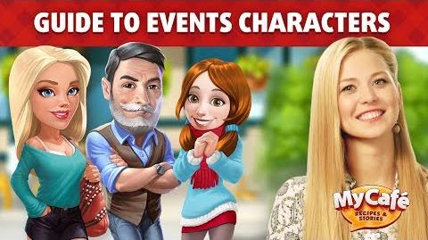 My Cafe Guide to Special Characters & Stories