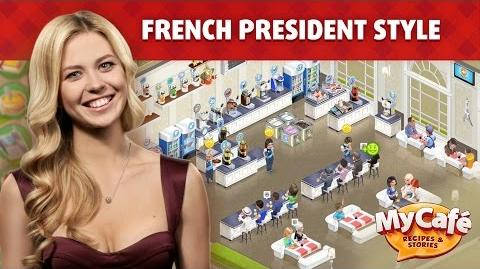 My Cafe French Presidential Style