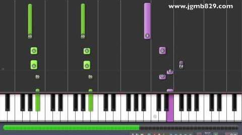 Bang Yong Gook Zelo Never Give Up Piano