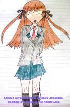 Sakura Miyazaki School Uniform