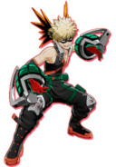 Katsuki in My Hero Academia One Justice