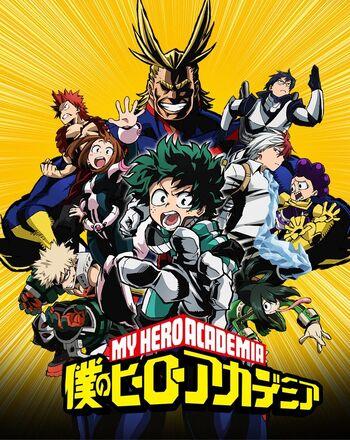 My Hero Academia Anime My Hero Academia Wiki Fandom Powered By