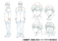 Tenya's Anime Character Design