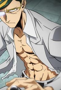 Sir Nighteyes muskulöser Körper