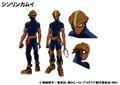 Shinrin Kamui's Anime Colored Character Design