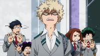 Katsuk will seinen Mitschülern Angst einjagen