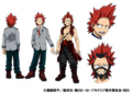 Eijirou's Anime Colored Character Design