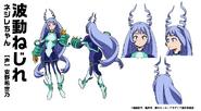Nejire Hado Heldenkostüm Charakterdesign
