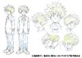 Izuku's Anime Character Design