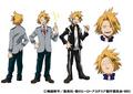 Denki's Anime Colored Character Design