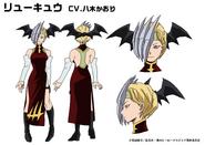 Ryuko Tatsuma Charakterdesign