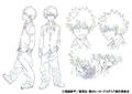 Katsuki's Anime Character Design