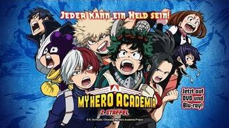 My Hero Academia – 2. Staffel (Anime-Trailer)