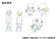 Kouta Anime Design