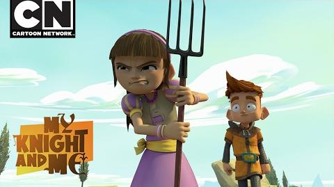 My Knight and Me Bjorn Saves The Day Cartoon Network