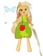 Primera vercion para la muñeca de apple beautiful