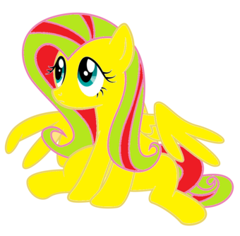 Fluttershy puppy face vector by paulie15-d6x2uo7