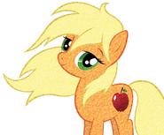 Applejack lets her hair down vector by wintrparkgrl-d4zug20