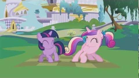 Cadance & Twilight Sparkle - Rayos de sol al despertar, choca los cascos y luego a saludar