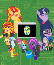 My Little Pony Rise of the Our Wars Movies Poster