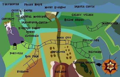 Equestran Island Maps