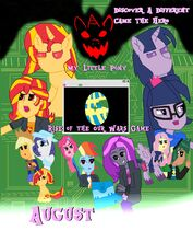 My Little Pony Rise of the Our Wars Game Movies Poster