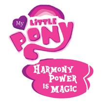 My Little Pony Harmony Power is Magic Logo