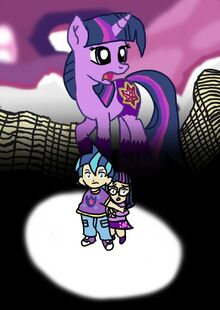 My Little Pony The Movie Poster Two Children I wish you