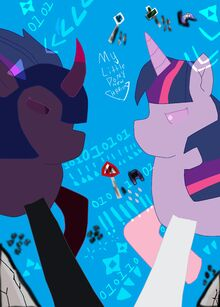 My Little Pony New Harmony Rainbows Rainbows is Magic Ova 1 Poster