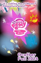 My Little Pony the Movie Fall 2024 Cutie Mark Poster