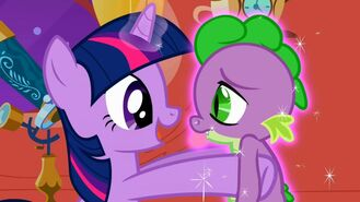 My little pony friendship is magic 2x02 the return of harmony part 2 12 twilight sparkle and spike-1024x576