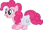 Pinkie con maletas