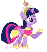 Twilight sparkle princess vector by dimetrapaywer-d5t8os7
