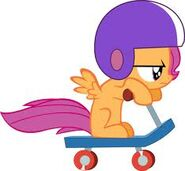 Scootaloo scooter