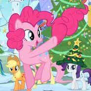 Pinkie pie saltando