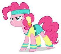 Pinkie ropa de ejercicio