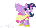 Vector 6 princess twilight sparkle by lunathenightprincess-d5zfwb6