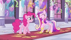 Pinkie y cadance