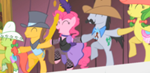 150px-Pinkie Pie and Appleloosa Ponies Cancan S1E21
