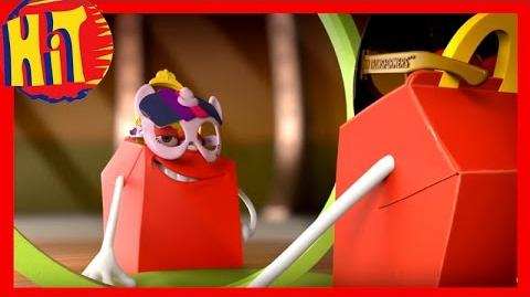 Maski My Little Pony & Transformers → Happy Meal → McDonalds → TV HD Commercial