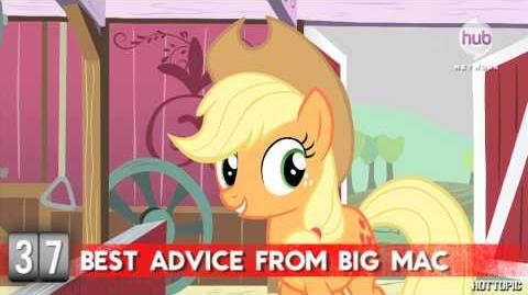 Hot Minute My Little Pony's Applejack