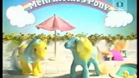My little pony commercial - german