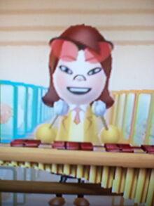 Aka in Wii Music