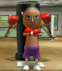 Boxer Dave Wii Fit