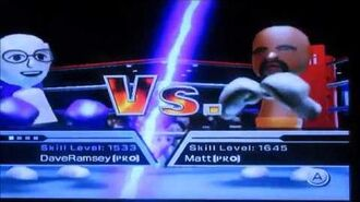 Dave Ramsey vs. Matt in Boxing