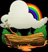 Decoration rainbow connection 01