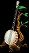 Decoration rainbow connection set banjo