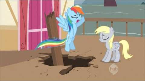MLP FiM Derpy Hooves talks S2 EP14 1080p HD