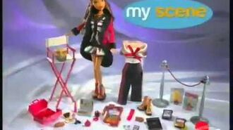 2004 My Scene Goes Hollywood Doll Commercial