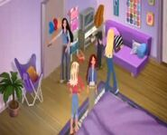 Girls in Madison's room